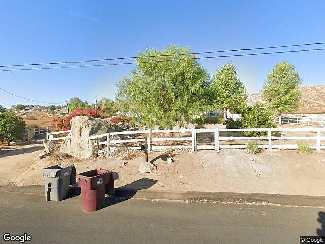 Image of rent to own home in Perris, CA